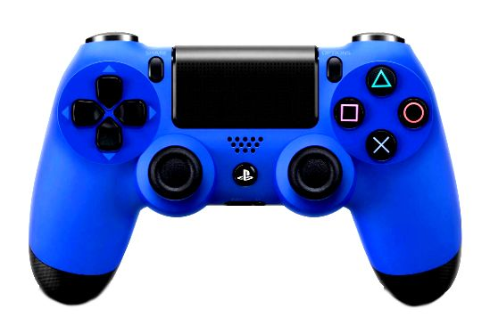 SONY PS4 PLAYSTATION BLUE DUAL SHOCK CONTROLLER