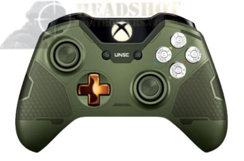 HALO MASTER CHIEF XBOX ONE LIMITED EDITION WIRELESS